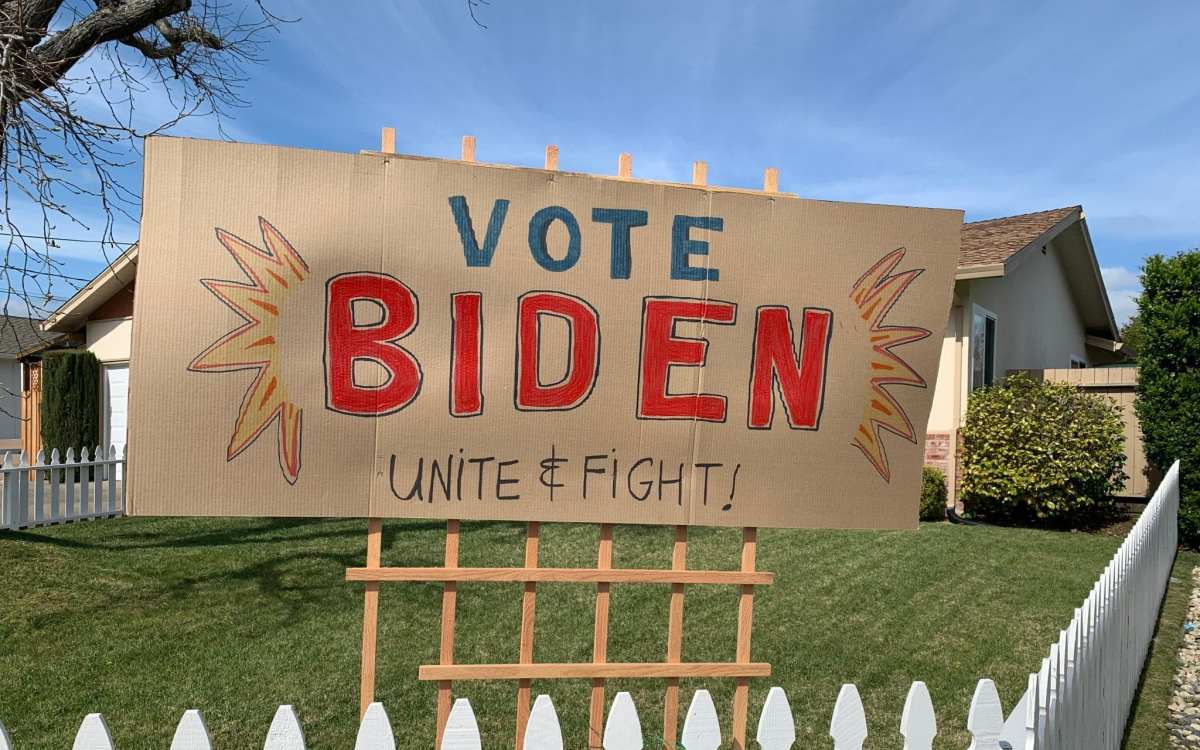 Letters to the Editor: Biden's Stellar Social Distancing