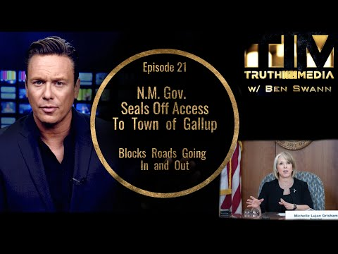 BREAKING: N.M. Gov. Seals Off Access Gallup, Blocks Roads Going In and Out