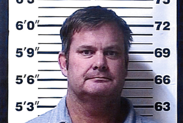 A booking photo provided by the Rexburg (Idaho) Police Department shows Chad Daybell,