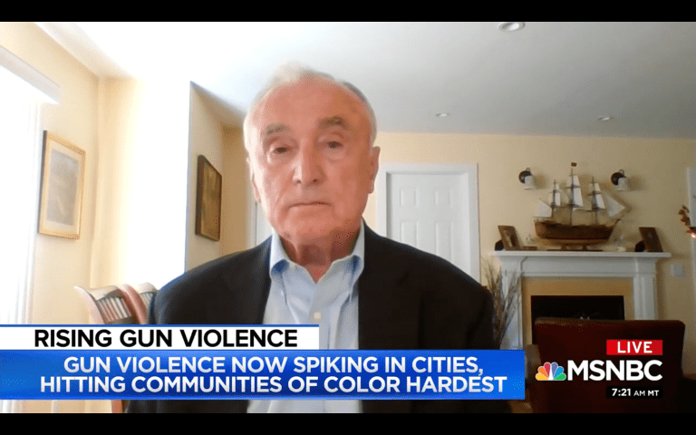 Former NYPD Commissioner: 'Crime Virus' Will Get Out of Control
