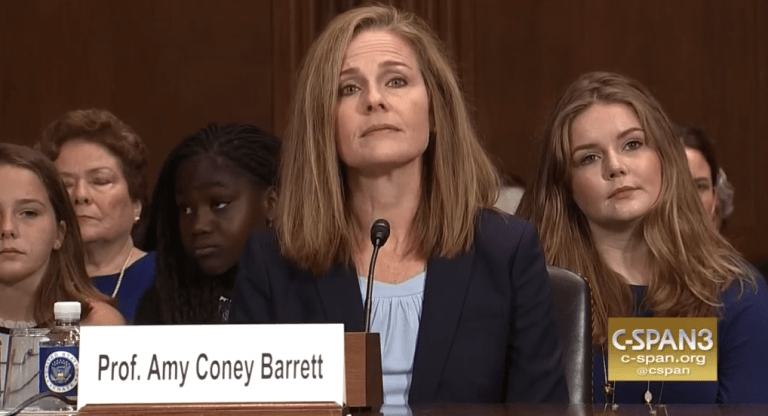 This Is What Amy Barrett Actually Wrote About Catholic Judges and the Death Penalty