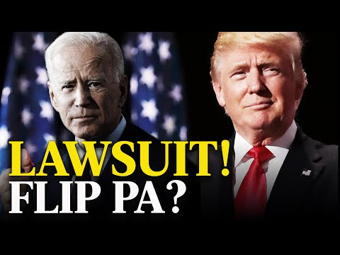 Trump Will Flip Pennsylvania With Lawsuit? Biden Is Not Looking Good | Eye Opener
