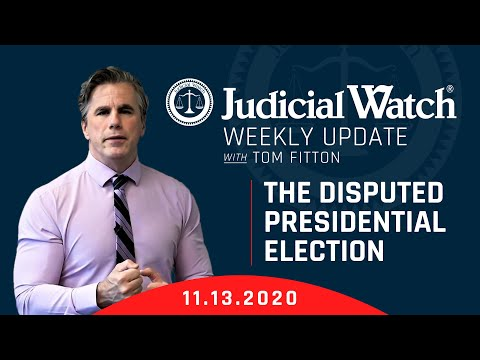 AUDIT THE ELECTIONS! Judicial Watch Steps Up!