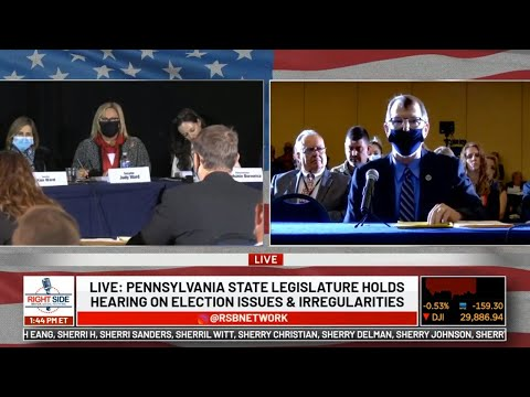 LIVE: Pennsylvania State Legislature Holds Public Hearing on 2020 Election