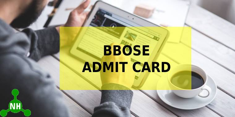 BBOSE admit card featured image