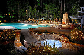 callawayThe outdoor courtyard - spa provided photo