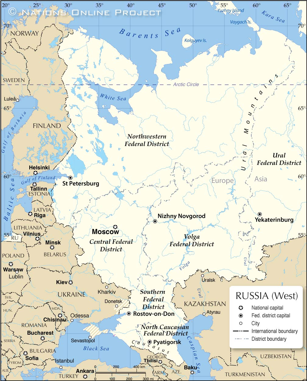 Russia And Eurasian Republics Map : russia, eurasian, republics, European, Russia, Nations, Online, Project