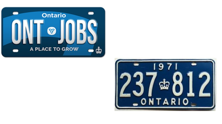 Blue Licence Plates Coming Back To Ontario First Time Since