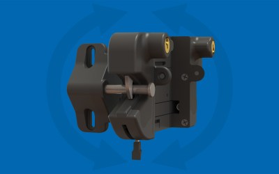 Nationwide Industries Introduces First External Mount Latch – Locks & Unlocks from Both Sides