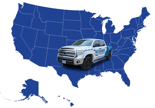 nationwide overspray dallas mobile crew map