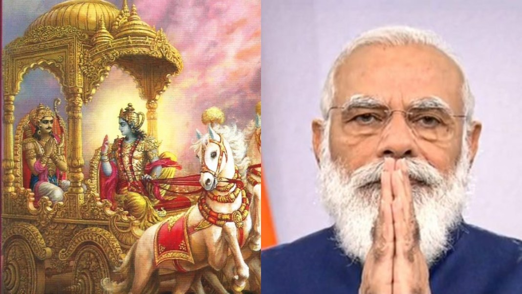 'Bhagavad Gita' and PM Modi's picture will be sent in space, Nano satellite will do this work