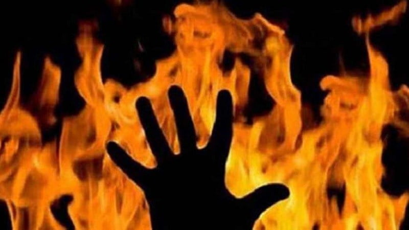 Girlfriend who came to burn her was killed, she herself died by burning: unhappy about not getting married