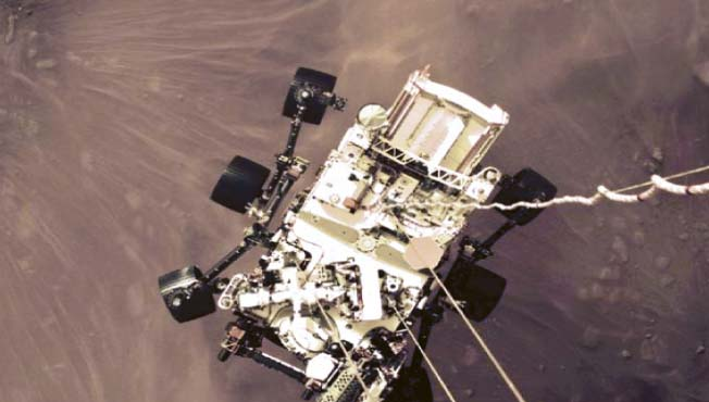 Perseverance sends color photographs from Mars    Leader