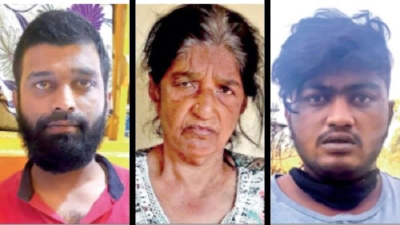 When 61-year-old Rajeshwari asked for rent, Pasha murdered, burnt the dead body in a drain with family members