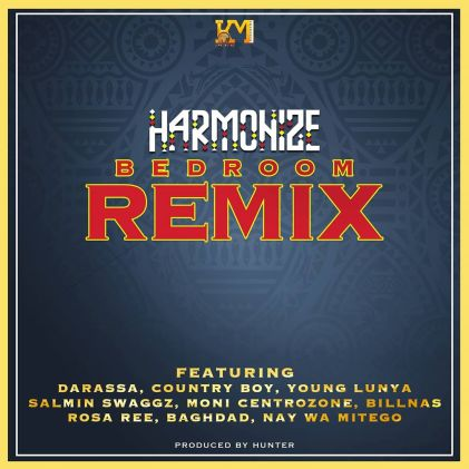 Harmonize ft. Darassa Country Boy Young Lunya Moni Billnas Rosa Ree Baghdad – Bedroom Remix art - DOWNLOAD MP3: Harmonize ft. Darassa, Country Boy, Young Lunya, Moni, Billnas, Rosa Ree, Baghdad – Bedroom (Remix)