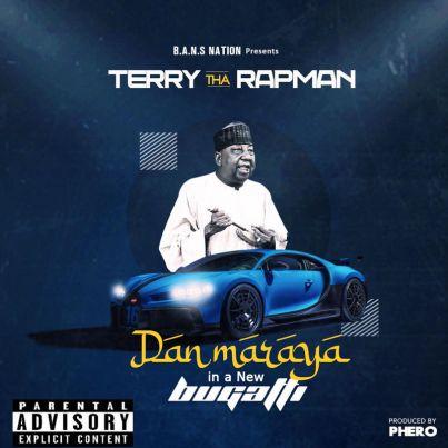 Terry Tha Rapman – Dan Maraya In A New Bugatti art