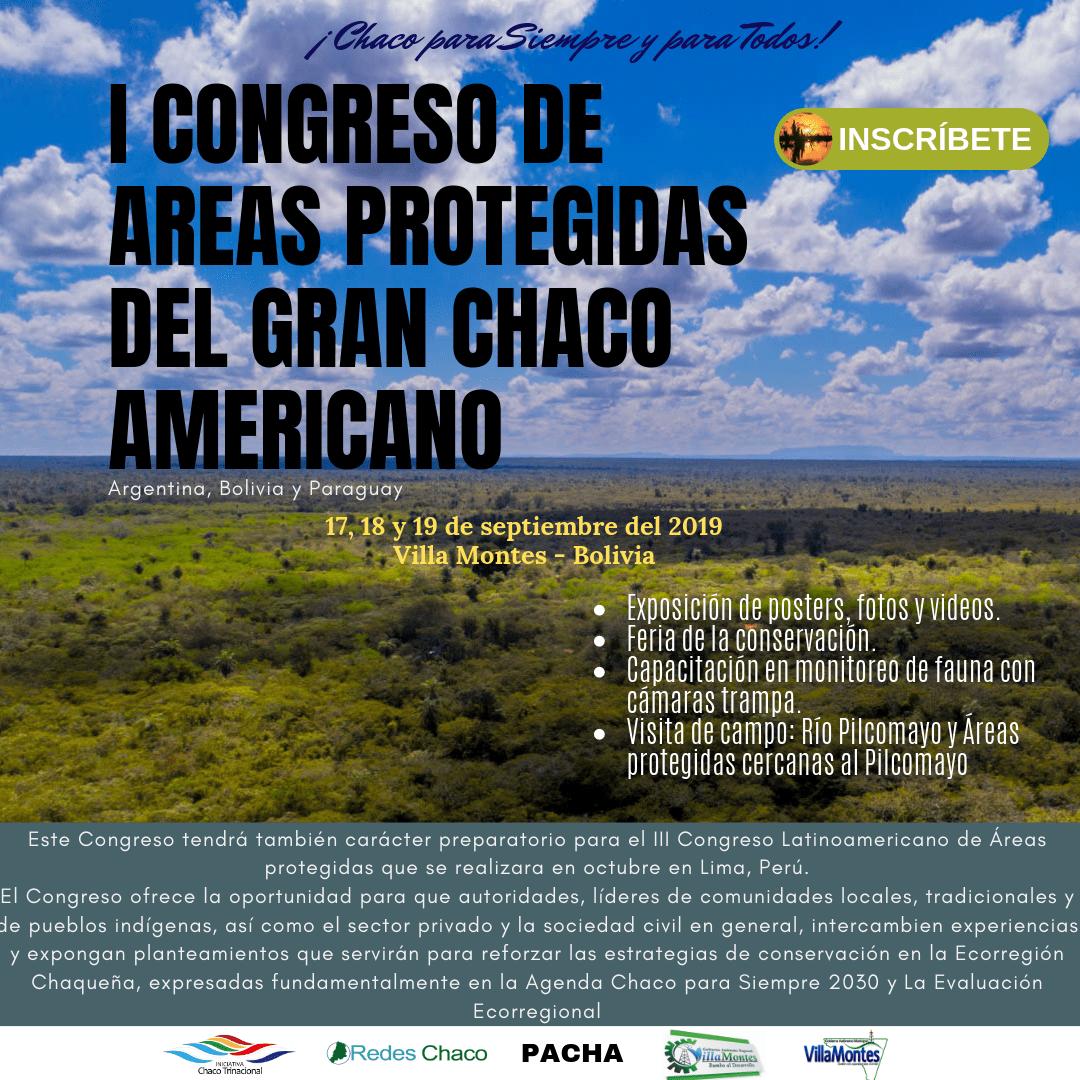 I Congreso de Áreas Protegidas del Gran Chaco Americano