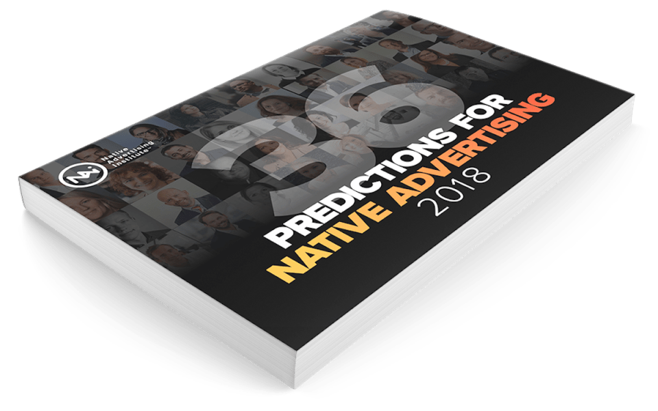 native advertising predictions 2018