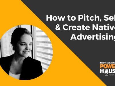 pitching native advertising