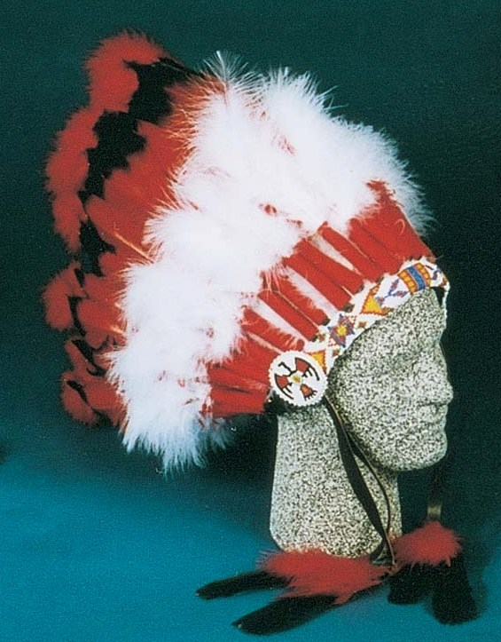 29 Feather Ceremonial Headdress 6-9230