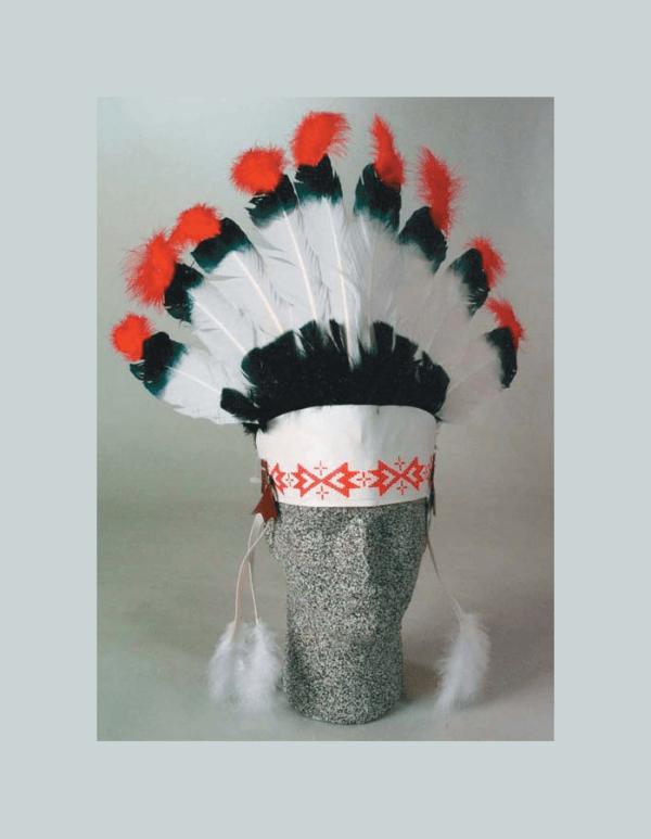 9 Eagle Feather Headdress