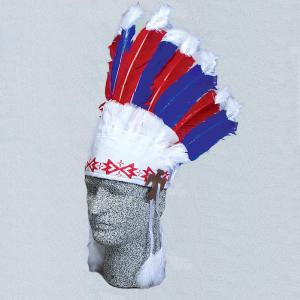 9 Feather Indian Headdress