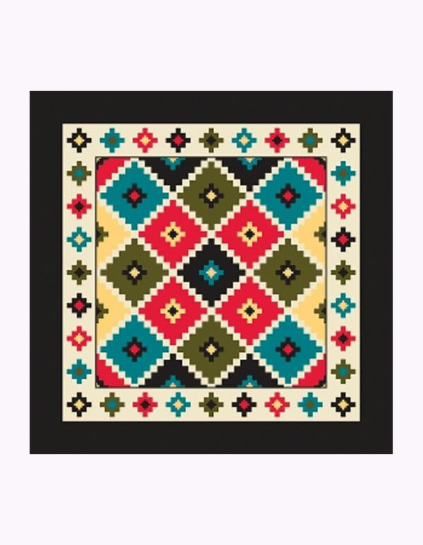 Aztec Argyle Design Bandanna