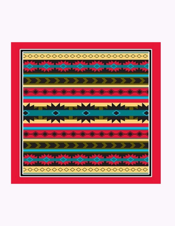 Aztec Modern Print Design Bandanna