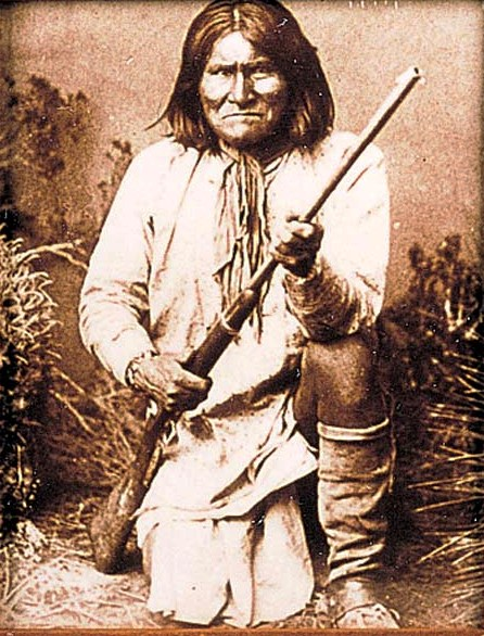 Geronimo Tin-Type Print 16-12-8
