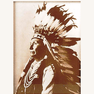 Chief Joseph Tin-Type Print