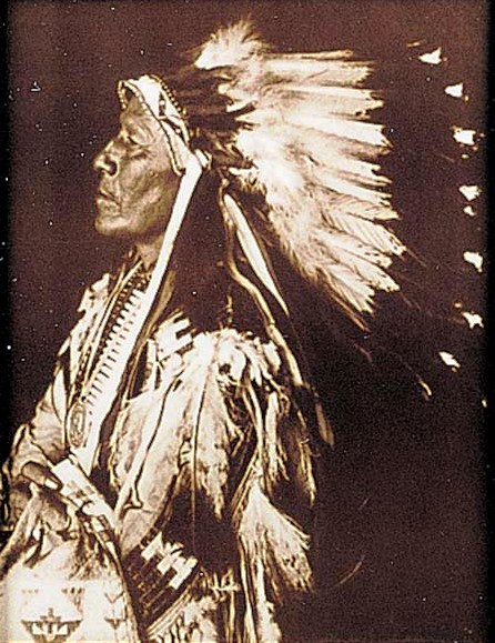 Chief Strange Horse Tin-Type Print 16-12-7