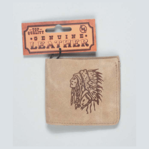 Indian Chief Suede Boys Wallet