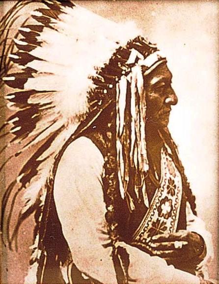 Sitting Bull Tin-Type Print 16-12-17