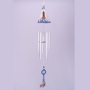 Teepee Wind Chime With Dreamcatcher