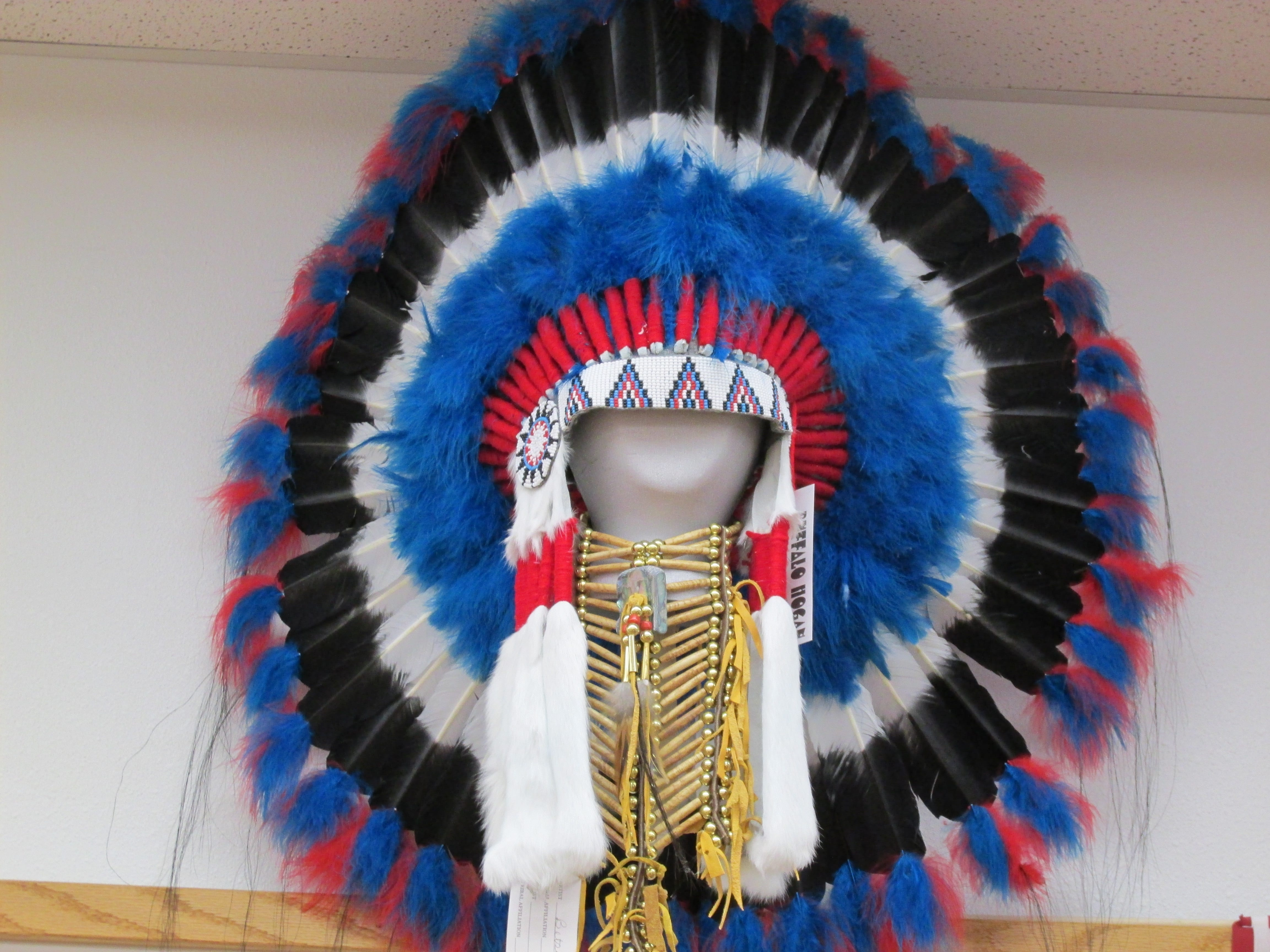 Native American Head Dress Native Made Navajo