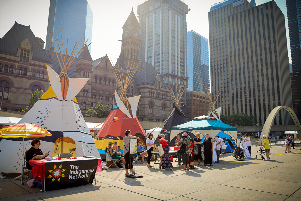 IRSS Event at Nathan Philips Square