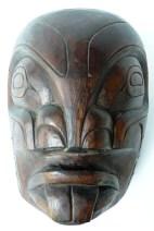 Masque Pug Wee, Kwakiutl, Colombie Britannique_face, quai Branly, masque amérindien