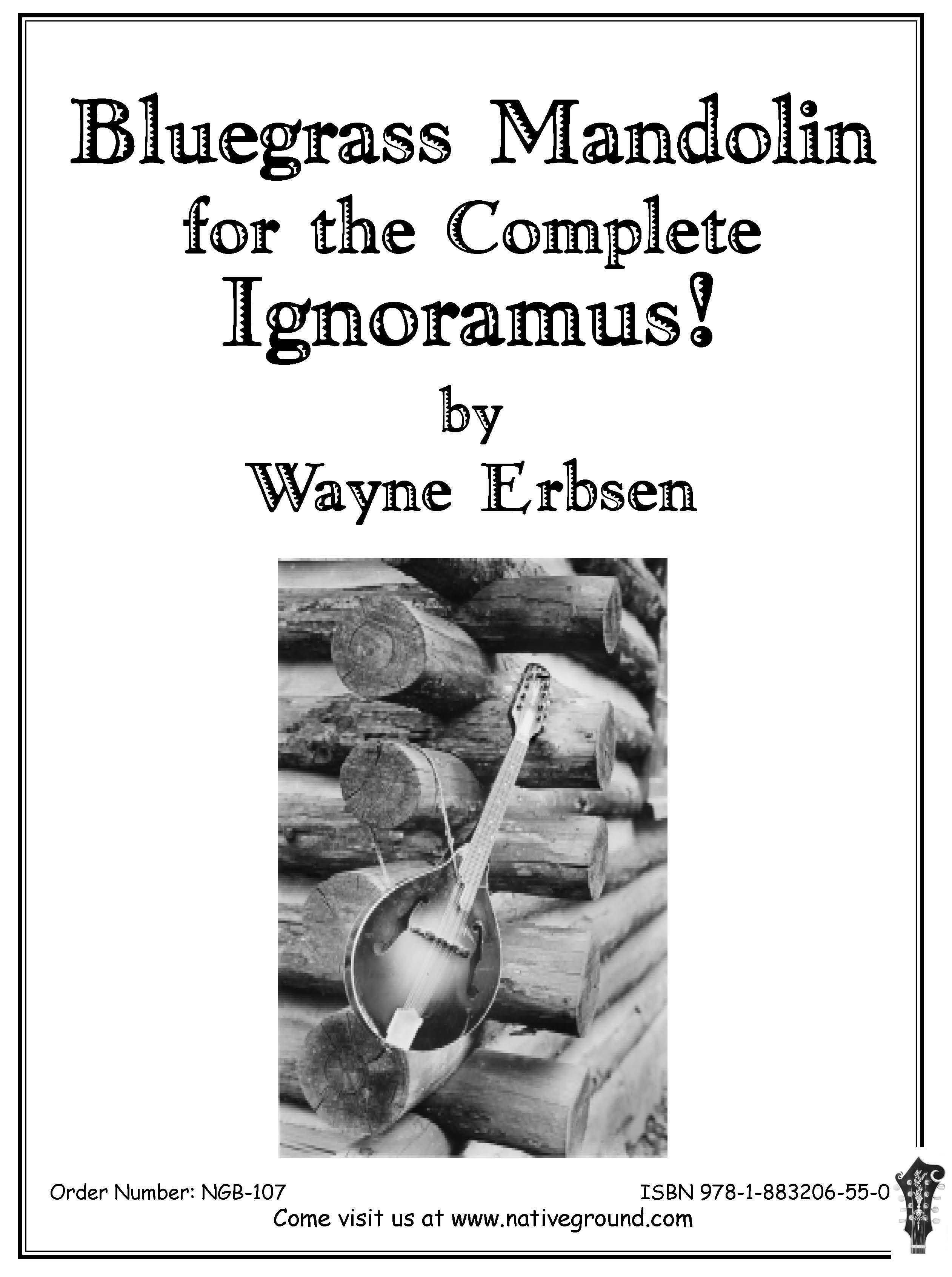 Bluegrass Mandolin for the Complete Ignoramus! (Book & CD