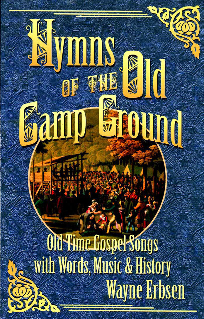 Hymns of the Old Camp Ground  Book damaged second
