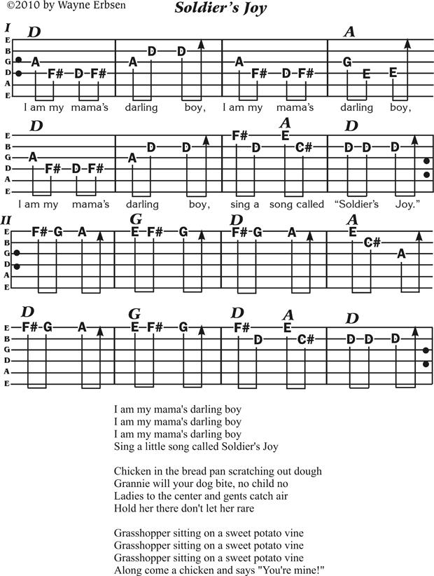 soldiers-joy