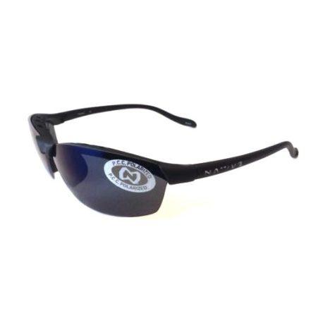 Native Eyewear Dash SS XTRA LENSES POLARIZED Sunglasses Asphalt Blue Reflex