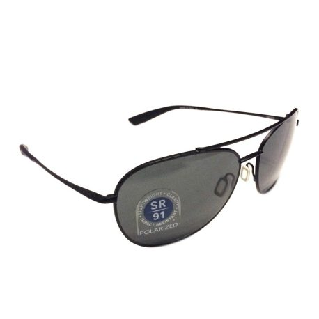Kaenon Driver Sunglasses - Matte Black - G12 Grey - POLARIZED - 306-03-G12