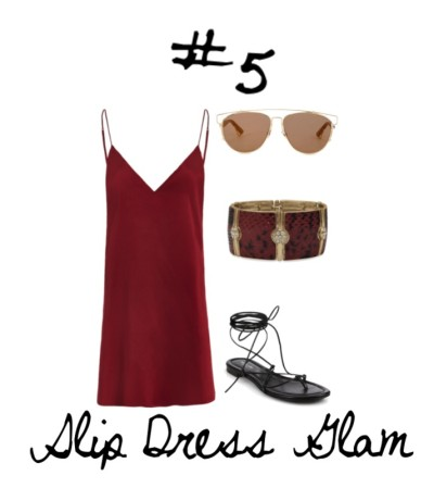 05 Slip Dress Glam