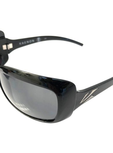 Kaenon Georgia Sunglasses - Gloss Black - G12 Grey POLARIZED 208-01-G12