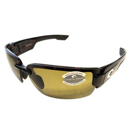 Costa Del Mar Rockport Sunglasses - Tortoise POLARIZED Sunrise Yellow 580P