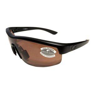 Costa Del Mar Straits Sunglasses - Blackout Black - POLARIZED Copper 580P