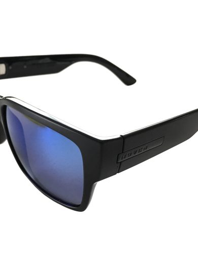Hoven Vision Mosteez Sunglasses ANSI Matte Black POLARIZED Blue USPS Priority