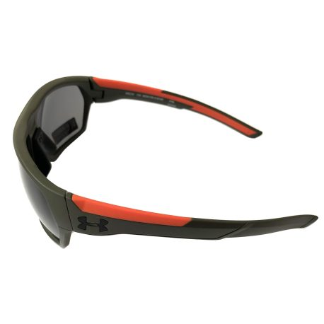 Under Armour Shock Sunglasses UA - Matte Rough Green ANSI Z87 Gray