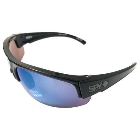 Spy Optic Sprinter Sunglasses ANSI Black POLARIZED Dark Blue
