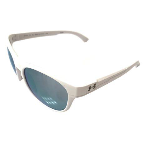 Under Armour Glimpse RL Sunglasses UA - Satin White - Purple Mirror
